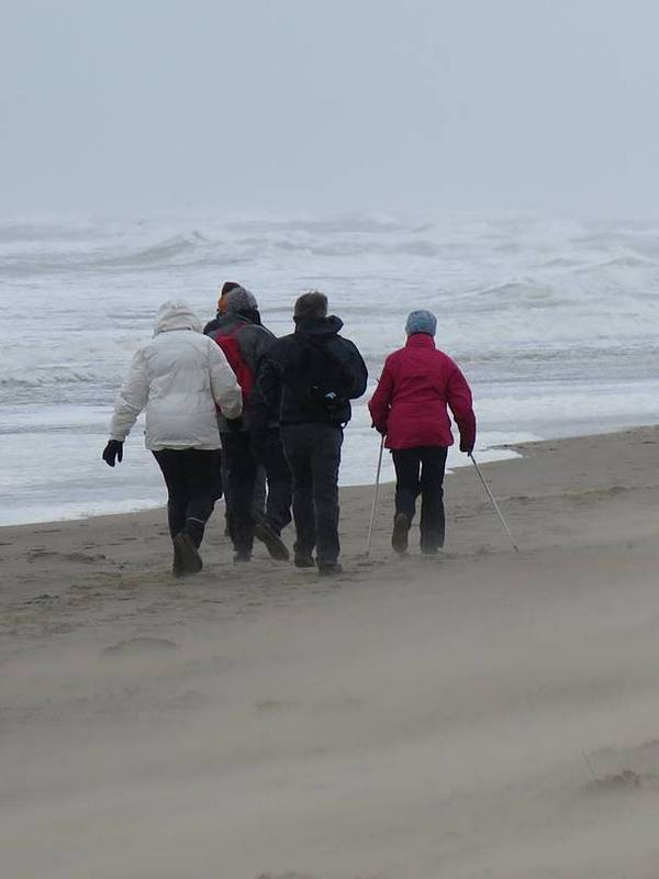 strandwandeling zandmotor