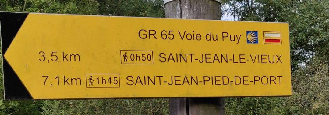 Onderweg, Saint Palais, Saint-Jean-Pied-de-Port